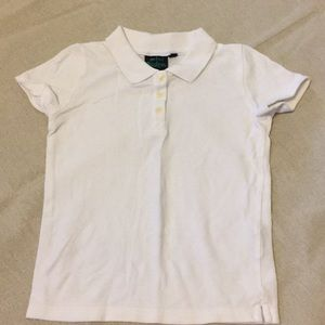 Mini Boden White Polo